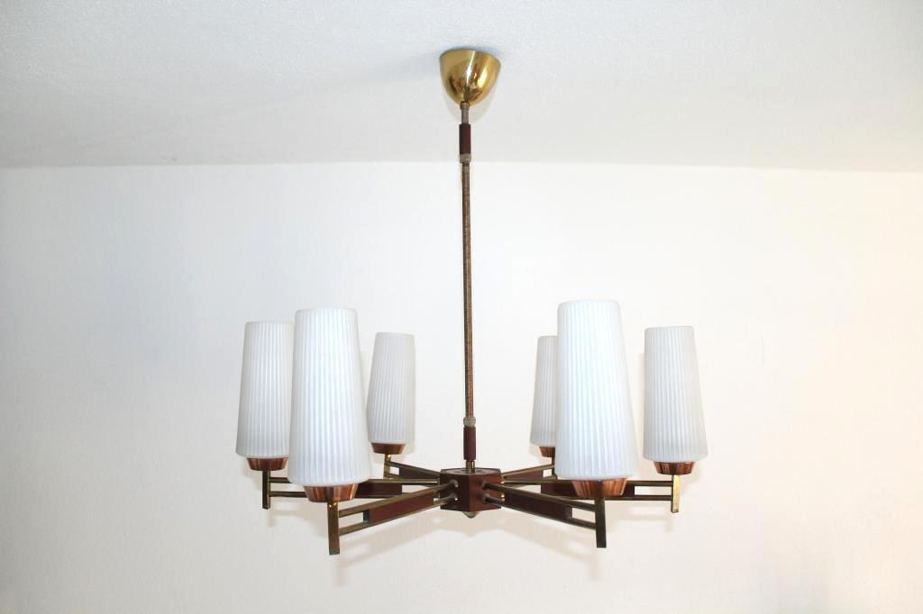 Kronleuchter Mit Passenden Wandleuchten ~ Vintage tütenlampe deckenlampe kronleuchter mon ami e vintage
